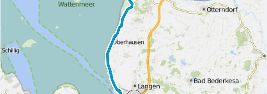von Bremerhaven nach Cuxhaven